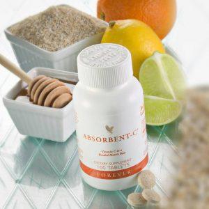فوراور ابسوربنت سی - مکمل غذایی فوراور ابزوربنت سی - ویتامین سی فوراور - Forever Absorbent-C