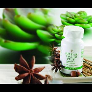 مکمل غذایی لسیوم پلاس - فوراور لیسیوم پلاس - عصاره شیرین بیان - Forever Lycium Plus